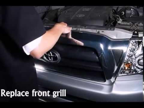 Spec-D - Headlights Toyota Tacoma 2005 Installation Video