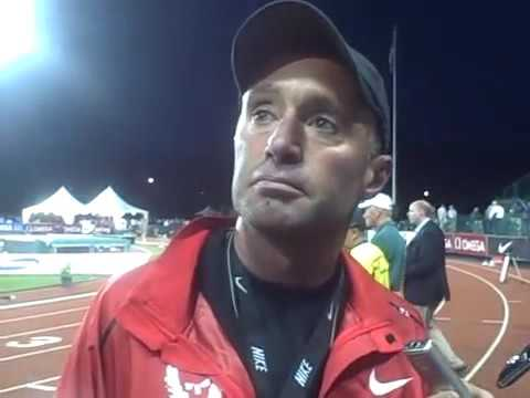 Alberto Salazar Talking About Mo Farah's Win and Galen Rupp Not Starting