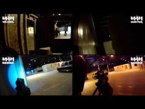 M4H Airsoft GamePod Combat Zone California 5-11-13