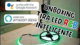 Unboxing tira LED RGB inteligente | Magic Home Google Home | SmartHouse