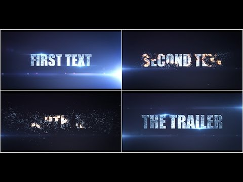 Cinematic Action Trailer Template - After Effects Project
