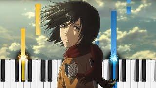 "Shingeki no Kyojin Season 3 Opening: ""Red Swan"" - Piano Tutorial - Attack on Titan"