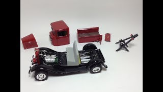 Lindberg '34 Ford Tow Truck - Part 3