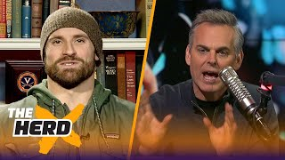 Chris Long joins Colin Cowherd to talk Super Bowl LII, Tom Brady and more | THE HERD