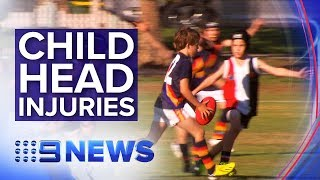 Children's activities that are most commonly linked to head injuries | Nine News Australia