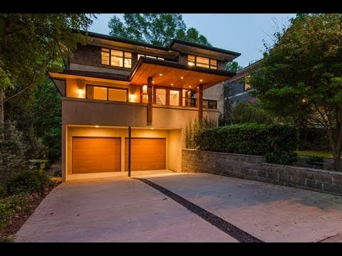 Million dollar modern homes atlanta 445 harold ave youtube Modern houses in atlanta