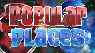 • Most Popular Places in Animal Jam •