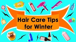 Top 25 Hair Care Tips for Beautiful Shiny Hair Naturally in Winter You Must Follow || Hair Care ❄️