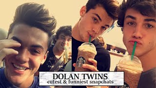 Dolan Twins cutest/funniest snapchats (PART 2)