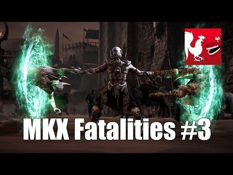 Mortal Kombat X - Fatalities Part 3
