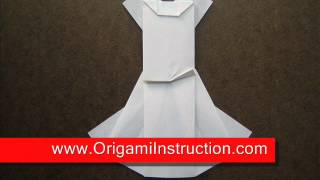 Origami Wedding Dress