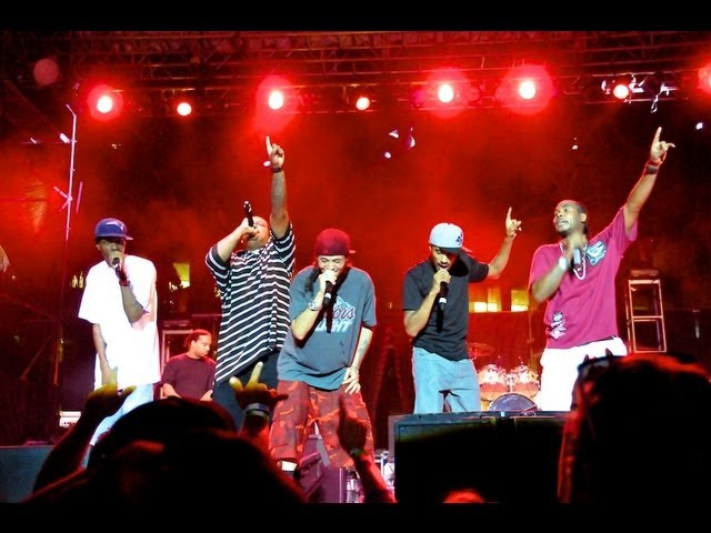 Bone Thugs-N-Harmony at the 2012 Point Panic Music Festival