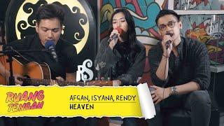 Download lagu AFGAN, ISYANA SARASVATI, DAN RENDY PANDUGO - HEAVEN gratis