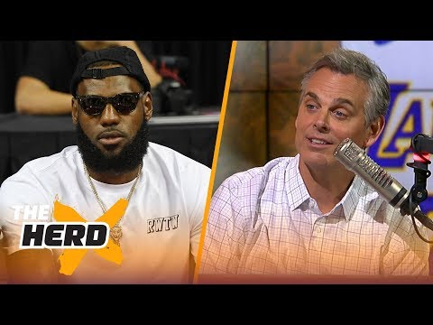 Colin explains why fans in L.A. should embrace LeBron James joining the Lakers   NBA   THE HERD