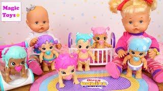 Las Bebés Nenuco HERMANITAS TRAVIESAS reciben un Regalo Sorpresa Bebés de Juguete BIZZY BABIES