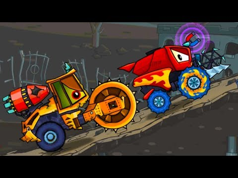 Car Eats Car Хищные машины #17 Машина ест машину игровой мультик детский летсплей #МАШИНКИ КИДА