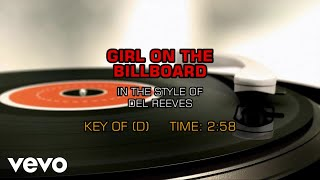 Del Reeves Girl On The Billboard Karaoke