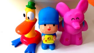 Pocoyo bath figures swimming