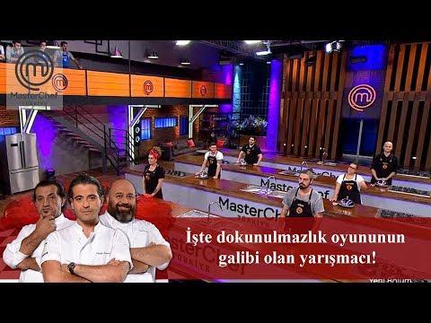 İşte dokunulmazlık oyununun galibi olan yarışmacı! | 13. Bölüm | MasterChef Türkiye
