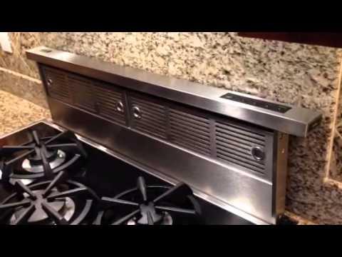 Viking Downdraft Ventilation System Youtube