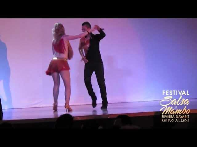 AmoreSalsa Dance Company - Riviera Nayarit Salsa & Mambo Festival 2013