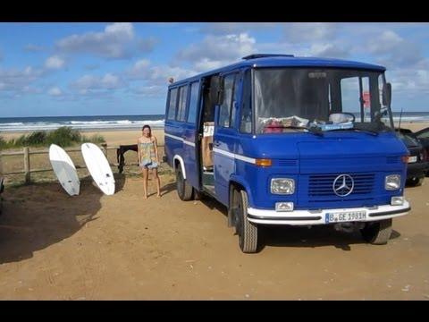 Berlin spain mercedes benz l 508d d do 1981 youtube for Mercedes benz espana