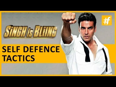 Singh is Bliing star Akshay Kumar | Self-Defense Tips Exclusive | Behind The Scenes | live on #fame