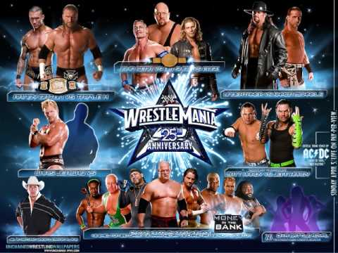 WWE Wrestlemania 25 Theme Song #2 - AC/DC - War Machine Video