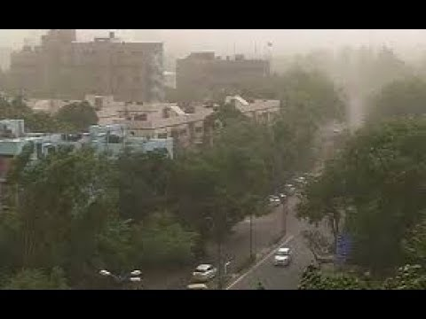 Thunderstorm | Severe Dust Storm Lashes Delhi NCR Region | IMD Issues Alert for 13 States