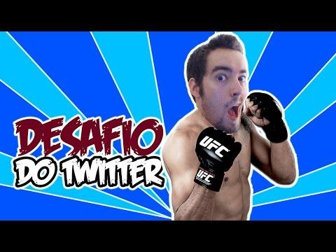DESAFIO DO TWITTER! - UFC (Novo)