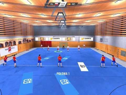 Zagrajmy W PIŁKA RĘCZNA 2012 S2 #1 Polska Vs Hiszpania
