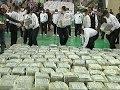 Raw: Police Display Peru's Biggest Drug Haul