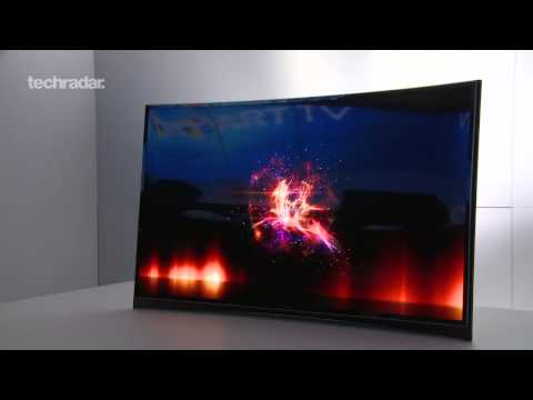 Samsung Ultra HD TV & Samsung Curved OLED TV First Look @ CES 2013