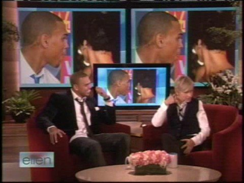 Chris Brown on Ellen
