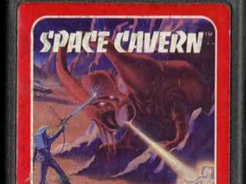 0 Classic Game Room HD   SPACE CAVERN for Atari 2600 review