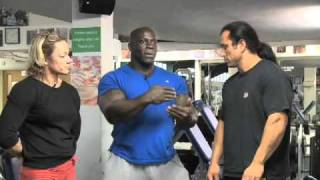 Dean Ash and  Eddie Abbew Hamstring Workout Part 1