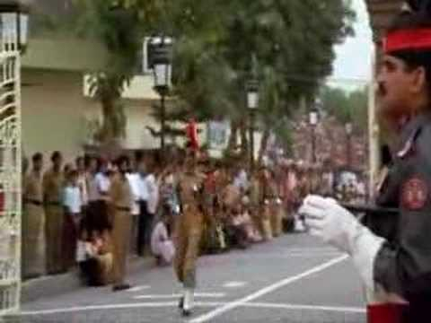 Pakistan India Wagah Border Ceremony (by Michael Palin) video