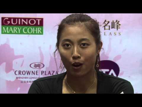 Taiwan sisters reflect on Shenzhen doubles tennis win