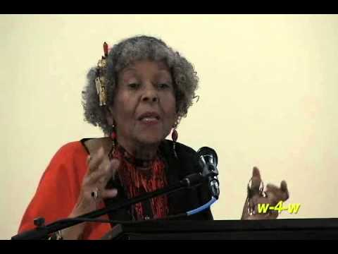 Dr. Adelaide L. Sanford - Afrocentric Education As A Human Right - 5/19/2013