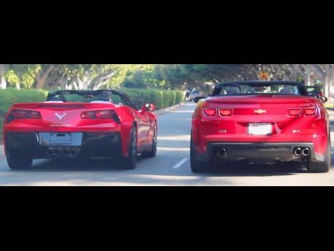 Camaro Zl1 Corvette C7 Stingray Convertible S Cruising