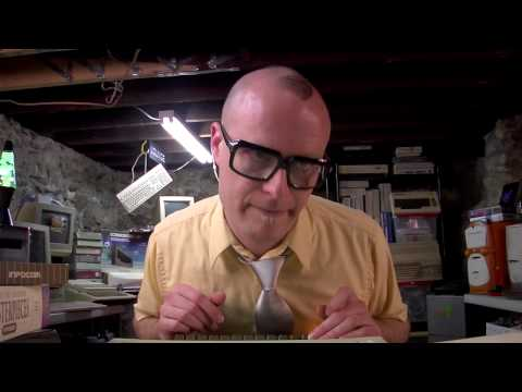 MC Frontalot - It Is Pitch Dark [720p HD official video w/ lyrics]