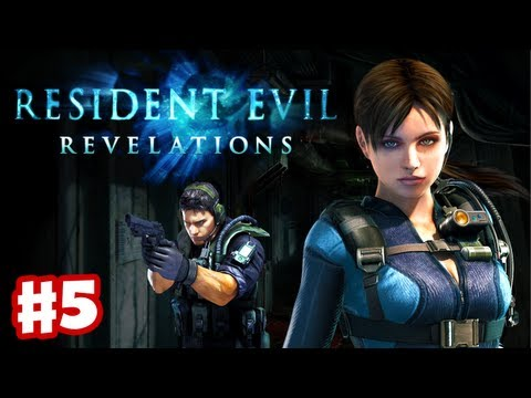 Resident Evil Revelations - Gameplay Walkthrough Part 5 - Scagdead Boss Fight! (3DS. PS3. XBox 360)