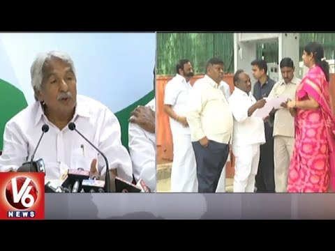 AP Special Status Is Only Possible With Congress Govt, Says Oommen Chandy | V6 News