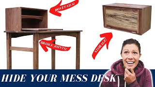 Building a Walnut Writing Desk with the Wood Whisperer