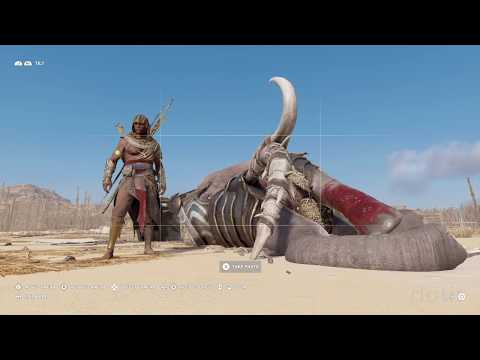 Assassin's Creed: Origins - Kill Elephant easily with a cursed weapon