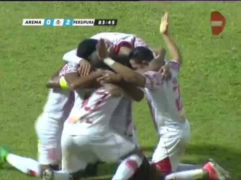 Highlights Arema FC vs Persipura Jayapura [0-2] Gojek Traveloka Liga 1