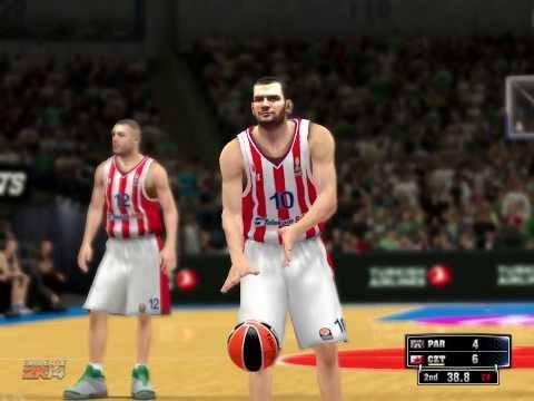 NBA 2k14 KK Crvena Zvezda Telekom-Partizan NIS