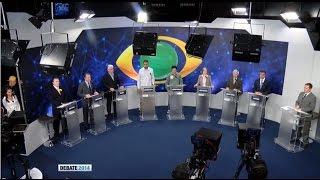 TV BAND | Debate entre candidatos ao Governo do Paraná - 1º Bloco (28/08/2014)