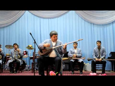 Traditional Uzbek music performance