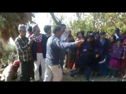 Nepali Panche Baja dance by Yog Raj Aryal.